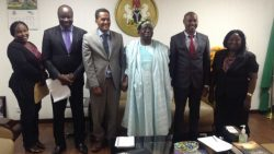 Hon. Minister of Health Receives New Global Fund Supply Chain Lead for Nigeria