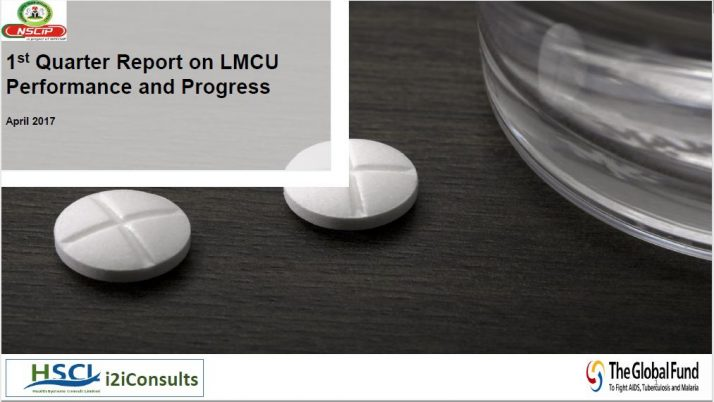 First Quater Report on LMCU Performance and Progress